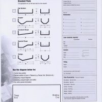 Pre-Tailored Liner Order Form